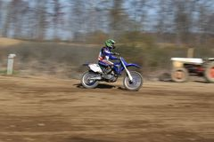 Motorcycle riders Stock Images