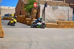 Motorcycle Road Racing Royalty Free Stock Photos