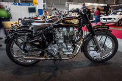 The motorcycle Royal Enfield Bullet 500 Classic. Stock Image
