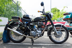 Motorcycle Royal Enfield Bullet 500 es. Royalty Free Stock Photo