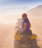 Motorcycle safari Egypt! Royalty Free Stock Photos