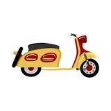 Motorcycle Scooter stock illustration