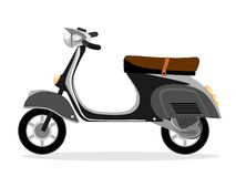 Motorcycle scooter Stock Photo