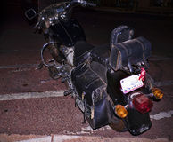 Motorcycle in Scottsdale is in Arizona on the outskirts of Phoenix in the USA Royalty Free Stock Photography