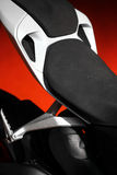 Motorcycle seat Stock Photography