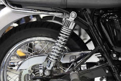 Motorcycle shock absorber Stock Image