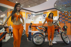 Motorcycle Show 2012 - Brazil - São Paulo Royalty Free Stock Images