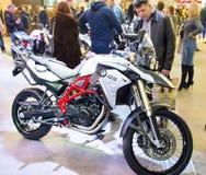 Motorcycle show in Kiev, Ukraine Royalty Free Stock Photos