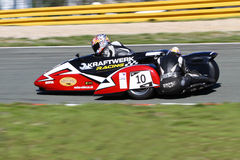 Motorcycle sidecar Stock Photography