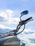 Motorcycle and sky Stock Photo
