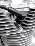 Motorcycle spark plug Stock Photo