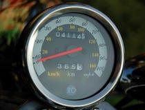 Motorcycle speedometer Stock Image
