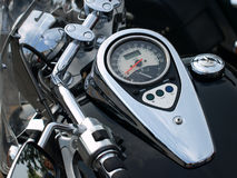 Motorcycle speedometer. Royalty Free Stock Photos