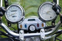 Motorcycle speedometer Stock Photos