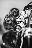 Motorcycle speedometer Stock Photo