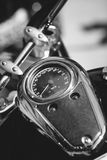 Motorcycle speedometer Royalty Free Stock Photography