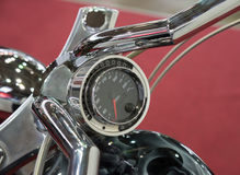Motorcycle speedometer close up Royalty Free Stock Photos