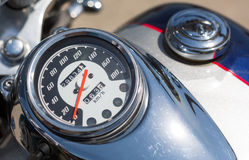 Motorcycle speedometer Stock Images