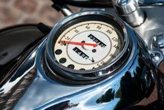 Motorcycle speedometer Royalty Free Stock Image