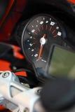 Motorcycle speedometer Royalty Free Stock Photo