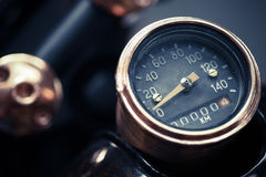 Motorcycle speedometer Stock Image