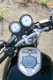 Motorcycle speedometer tachometre Royalty Free Stock Image