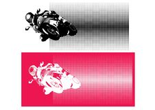 Motorcycle sport Royalty Free Stock Photography