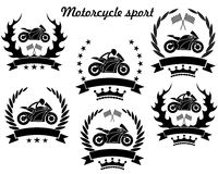 Motorcycle sport Royalty Free Stock Photo