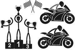 Motorcycle sport Stock Photo
