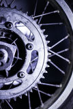 Motorcycle sprocket Royalty Free Stock Photo