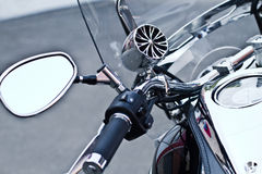 Motorcycle - the steel horse Royalty Free Stock Photography