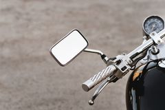 Motorcycle steering Royalty Free Stock Images
