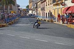 Motorcycle Street Racing Stock Photos
