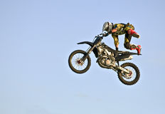 Motorcycle Stunt Royalty Free Stock Photos