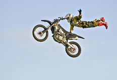 Motorcycle Stunt Royalty Free Stock Images