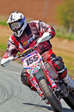 Motorcycle supermoto Stock Photo