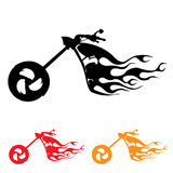 Motorcycle symbol. Vector set of motorcycle symbol illustration vector Royalty Free Stock Image
