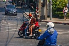 Motorcycle taxi. Royalty Free Stock Photos