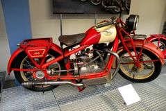 Motorcycle in the Technical Museum in Prague 2