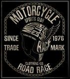 Motorcycle Themed handmade drawing helmet Stock Photos