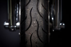 Motorcycle tire Royalty Free Stock Images