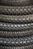 Motorcycle Tires Royalty Free Stock Photography