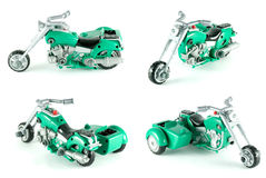 Motorcycle toy Royalty Free Stock Image