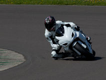 Motorcycle track day Stock Images