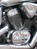 Motorcycle  transport  means Royalty Free Stock Images