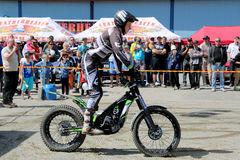 Motorcycle Trials By Timo Myohanen Stock Photography