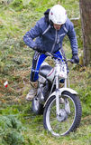 Motorcycle Trials Rider. Stock Photography