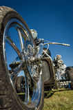Motorcycle trike Stock Images