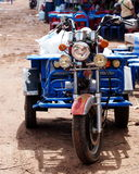 Motorcycle trolly Stock Image