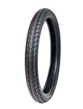 Motorcycle tyre Royalty Free Stock Photo